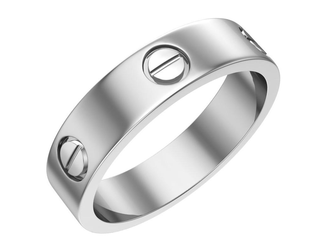 Кольцо из серебра с винтовым узором